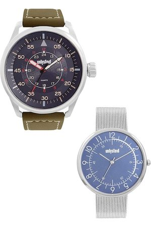 UNLISTED A KENNETH COLE PRODUCTION Men Set Of 2 Analogue Watch UL51149003