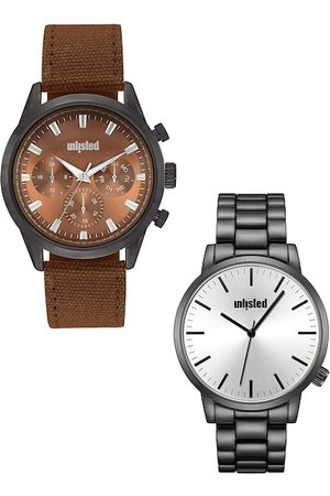UNLISTED A KENNETH COLE PRODUCTION Men Set Of 2 Analogue Watch UL51145002