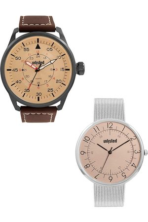 UNLISTED A KENNETH COLE PRODUCTION Men Set Of 2 Analogue Watch UL51149002