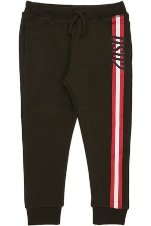 Dsquared2 Girls Trousers - Logo Print Cotton Sweatpants