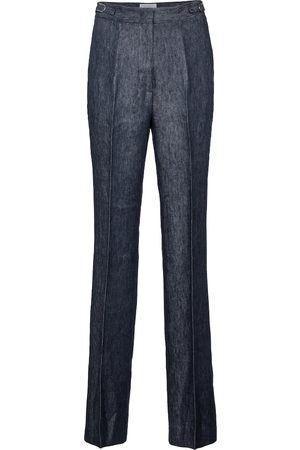 GABRIELA HEARST Vesta high-rise straight linen pants