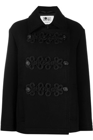 PORTS 1961 Long sleeve double breasted coat