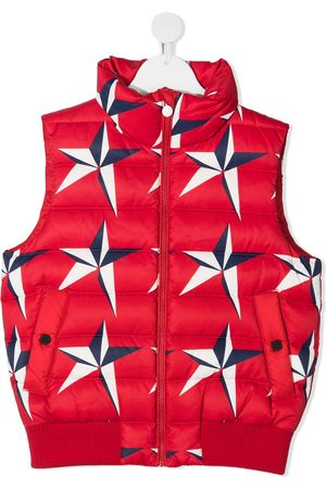 Perfect Moment Girls Body Warmers - Star-print quilted gilet