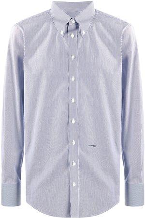 Dsquared2 Men Long sleeves - Pinstripe long-sleeve shirt