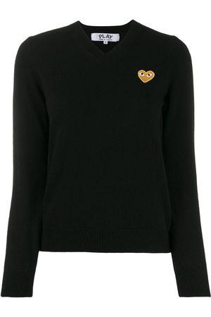 Comme des Garçons Women Long Sleeve - Long sleeve V-neck sweater
