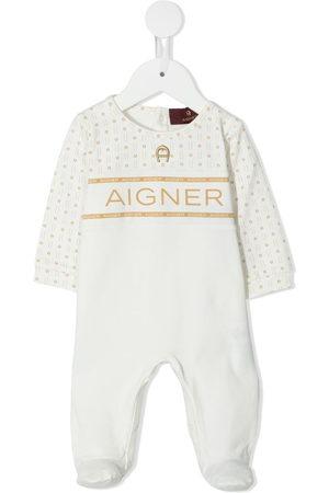 Aigner Rainwear - Logo-yoke babygrow