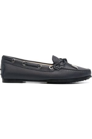 Tod's Lace-up round-toe moccasins