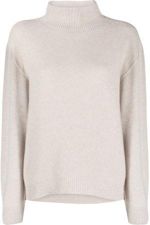 PESERICO SIGN Knitted virgin wool-blend jumper