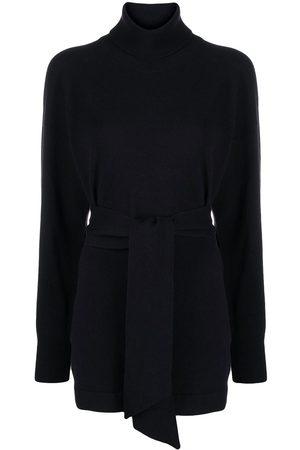 PESERICO SIGN Belted wool-blend jumper