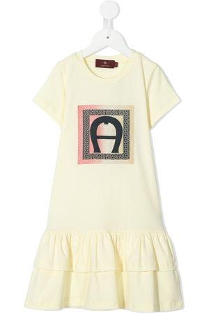 Aigner Tiered-hem T-shirt dress