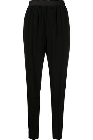 Maison Margiela Elasticated waistband tapered trousers