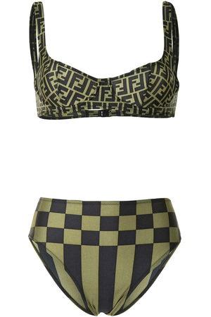 Fendi Zucchino print bikini