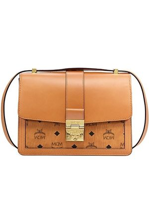 MCM Medium Tracy Visetos Shoulder Bag