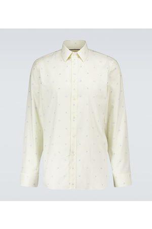Gucci Men Business - Symbols fil coupé Oxford shirt