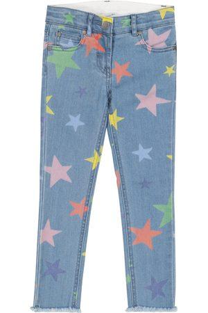 Stella McCartney Women Stretch - Star-print stretch-denim jeans