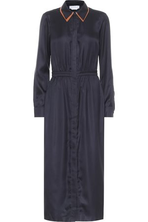 GABRIELA HEARST Women Midi Dresses - Lowell silk-twill midi dress