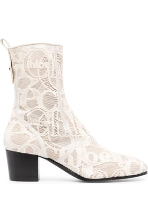 Chloé Women Ankle Boots - Goldee lace ankle boots
