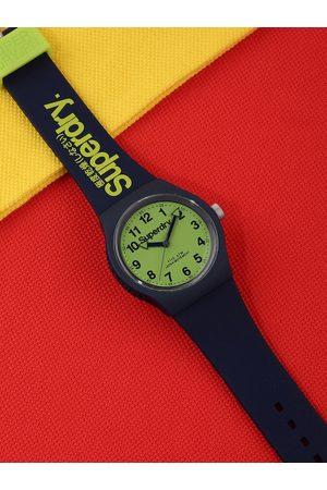Superdry Men Fluorescent Green Urban Analogue Watch SYG164UN