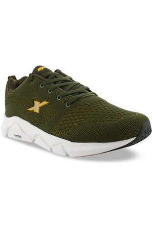 Sparx Men Olive Green Sports Shoes