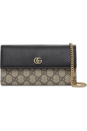 Gucci Petite Marmont Gg Supreme Leather Bag