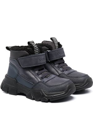 Geox Girls Ankle Boots - Ankle-length touch-strap boots