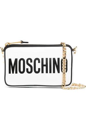 Moschino Logo-print shoulder bag