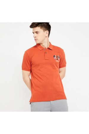 U.S. Polo Assn. . Patch Embroidered Regular Fit Polo T-shirt