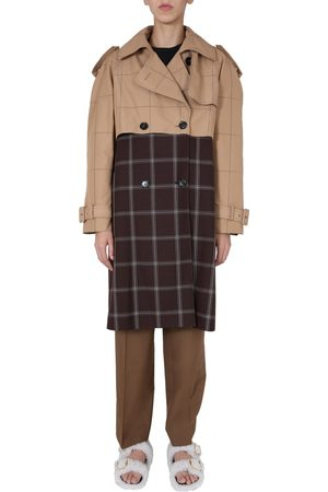 Marni Women Trench Coats - DOUBLE-BREASTED TRENCH