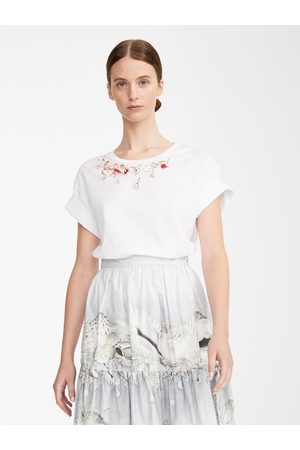 Max Mara OUTLET Weekend by MaxMara Roll Shell Embellished Tee
