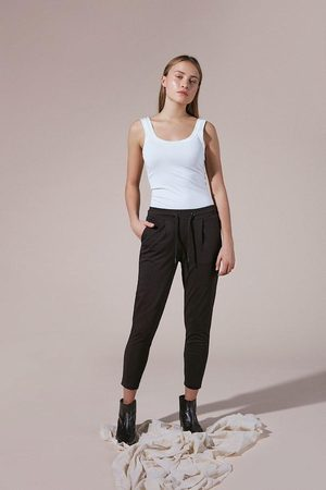 Ichi Kate Cropped Trouser- - 20104757