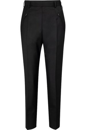 Maison Margiela Women Slim Trousers - High-rise slim pants