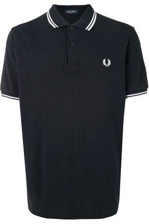 Fred Perry Men Polo Shirts - Stripe-trim logo polo shirt