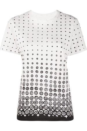 10 CORSO COMO Women Short Sleeve - Eos-logo cotton T-shirt