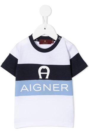 Aigner Logo stripe t-shirt