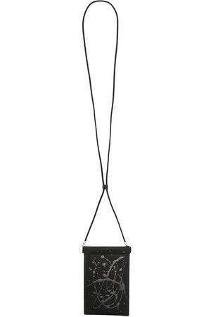 Maison Margiela Men Wallets - Lanyard leather cardholder