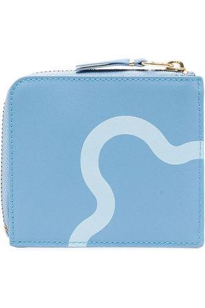 Comme des Garçons Wallets - Ruby Eyes zip-around wallet