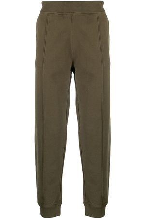 Helmut Lang Strapped cotton track trousers