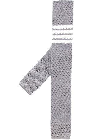 Thom Browne 4-Bar knitted silk tie