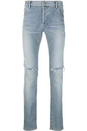 Balmain Ripped slim-fit jeans