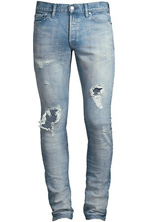John Elliott Men Slim - The Cast 2 Distressed Slim Jeans