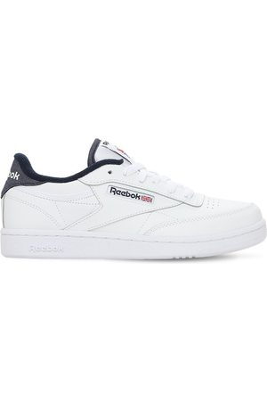 Reebok Club C 85 Leather Lace-up Sneakers