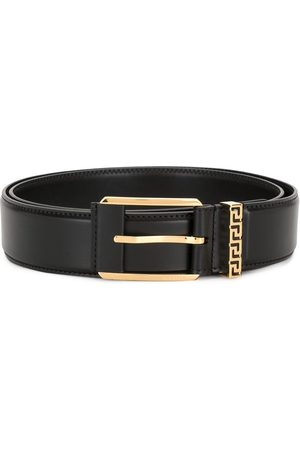 VERSACE Men Belts - Greca buckle belt