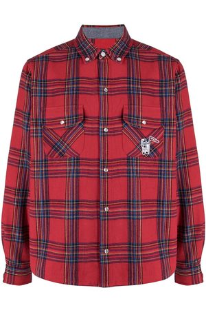 Billionaire Boys Club Astronaut plaid-check shirt