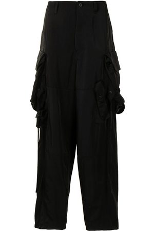 JULIUS Multiple cargo-pocket trousers