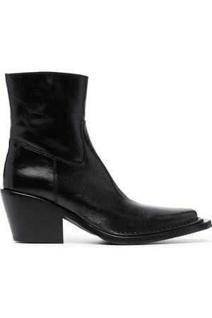 Acne Studios Women Ankle Boots - Square-toe ankle boots