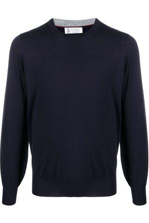 Brunello Cucinelli Crew-neck fine knit jumper