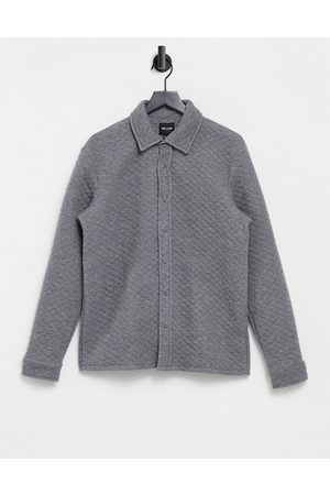 Only & Sons Premium quilted overshirt in