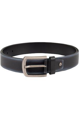 Da Milano Men Black Solid Belt