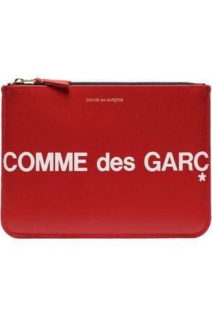 Comme des Garçons Logo printed pouch