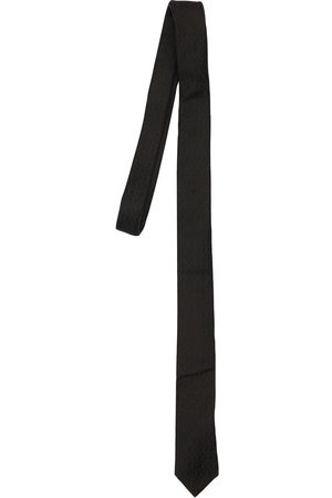 Saint Laurent Ysl Monogram Silk Tie